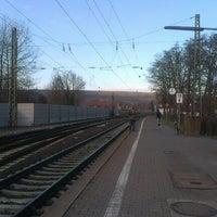 Photo taken at Bahnhof Nierstein by Katja L. on 1/12/2013