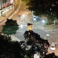 Photo taken at Praça João Pinheiro by Mário M. on 1/9/2014