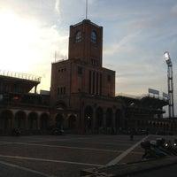 Photo taken at Stadio Renato Dall'Ara by Riccardo C. on 4/6/2013