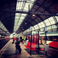 Photo taken at Amsterdam Central Railway Station by Serbülent P. on 4/11/2013
