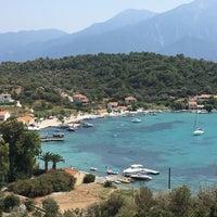 Photo taken at Poseidonio by Işıl D. on 8/30/2017