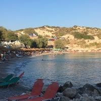 Photo taken at Glikoriza Beach by Işıl D. on 8/28/2017