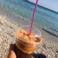 Photo taken at Glikoriza Beach by Işıl D. on 9/3/2017