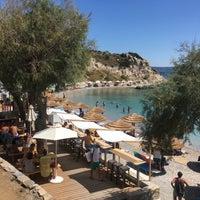 Photo taken at Glikoriza Beach by Işıl D. on 9/2/2017