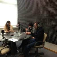 Photo taken at radio3w by Olga M. on 2/12/2013