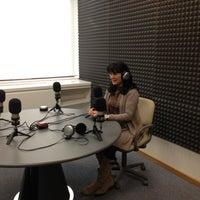 Photo taken at radio3w by Olga M. on 1/12/2013