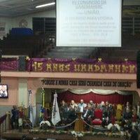 Photo taken at Igreja Evangélica Assembléia de Deus em Marechal Hermes by Evelyn D. on 8/16/2013