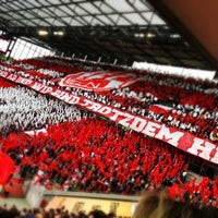 Photo taken at RheinEnergieStadion by René S. on 5/14/2013