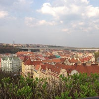 Photo taken at Na Hradbách by Яна on 4/21/2013