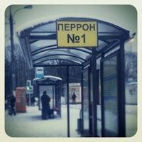 Снимок сделан в Автостанция «Орехово» пользователем Julia P. 2/3/2013