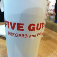 Photo taken at Five Guys by Andrew D. on 1/24/2013