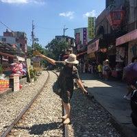 Photo taken at Shifen Old Street by wenmei y. on 8/20/2017