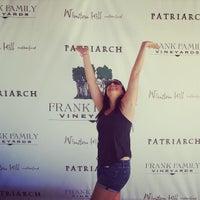 Photo taken at Frank Family Vineyards by Pamela P. on 7/27/2015