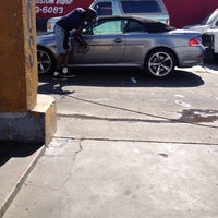 Photo taken at Hand Car Wash by Mia N. on 5/3/2014