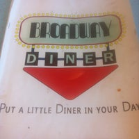 Photo taken at Broadway Diner by Mike Z. on 8/5/2013