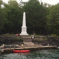 Photo taken at Captain Cook Monument by Jen A. on 10/3/2012