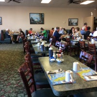 Photo taken at Ram's Family Restaurant by Elaine A. on 10/29/2014