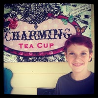 Photo taken at Charming Teacup by Monica J. on 3/13/2015