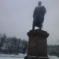 Photo taken at Памятник Багратиону by Дашка Ш. on 3/1/2013