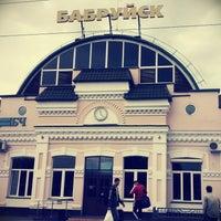 Photo taken at Бобруйск Пассажирский / Bobruysk Railway Station by Дашка Ш. on 7/21/2013