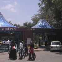 Photo taken at Nehru Zoological Park by Cristiane F. on 5/5/2013