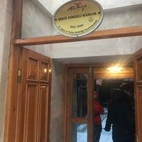 Photo taken at Tarihi Sekiz Direkli Hamam by Hasan Basri O. on 12/30/2017