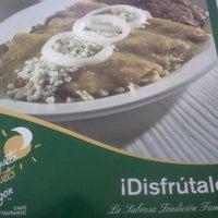 Photo taken at Los Bisquets Bisquets Obregón by Liz B. on 12/31/2012