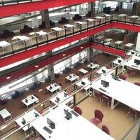 """Photo taken at Biblioteca Pública del Estado de Jalisco """"Juan José Arreola"""" by Liz B. on 2/23/2013"""