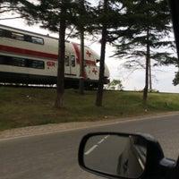 Photo taken at Makhinjauri Railway Station | მახინჯაურის რკინიგზის სადგური by Misha C. on 9/22/2017