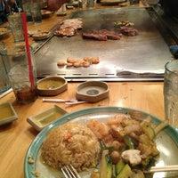 Photo taken at Kobe Japanese Steakhouse and Sushi Bar by Gaston R. on 1/26/2013