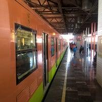 Photo taken at Metro Tepalcates (Línea A) by Israel M. on 12/27/2015