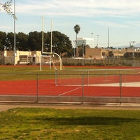Photo taken at Ocean View High School by Mark G. on 12/31/2012