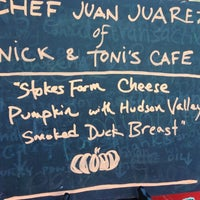 Photo taken at Tucker Square Greenmarket by Nick & Toni's Cafe on 10/13/2012