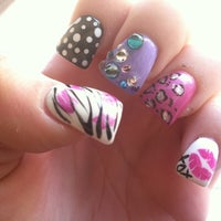 Photo taken at Glamour Nails by Samantha on 5/4/2013