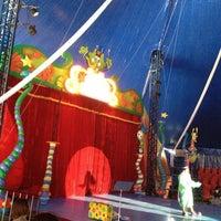 Photo taken at Turma Da Monica No Mundo Do Circo - Circo dos Sonhos by Camilla S. on 10/28/2012