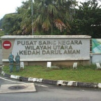 Photo taken at Pusat Sains Negara Wilayah Utara by Wan A. on 1/3/2013