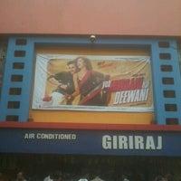 Photo taken at Giriraj Cinema by Shivani D. on 6/16/2013