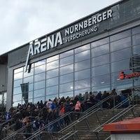 Das Foto wurde bei Arena Nürnberger Versicherung von Melli M. am 3/31/2018 aufgenommen