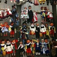 Photo taken at Marionety Truhlar by Anastasiya K. on 1/4/2014