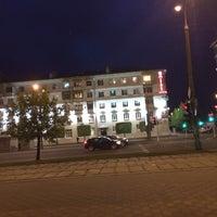 Photo taken at Остановка «Театральная» by Jeka B. on 4/27/2014