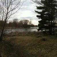 Photo taken at Markgrafs Lake Trail by Dawn H. on 5/2/2013