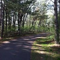 Photo taken at Markgrafs Lake Trail by Dawn H. on 5/15/2013