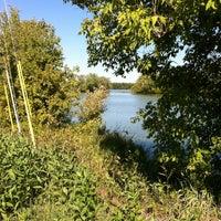 Photo taken at Markgrafs Lake Trail by Dawn H. on 9/22/2013