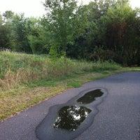 Photo taken at Markgrafs Lake Trail by Dawn H. on 9/15/2013