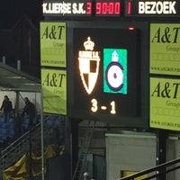 Photo taken at Herman Vanderpoortenstadion | Het Lisp by David M. on 4/26/2015