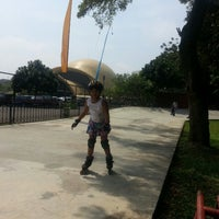 Photo taken at Dunia Inline Skate by !nsp!Rini h. on 5/18/2014