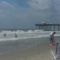 Photo taken at 13th St. Beach by Paul L. on 6/28/2013
