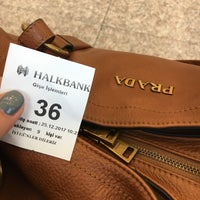 Photo taken at Halkbank by Sinem K. on 12/25/2017