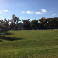 Photo taken at Memorial Field by Mike M. on 10/15/2015