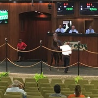 Photo taken at Ocala Breeders Sale by Mike M. on 6/14/2017